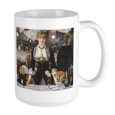 A Bar at the Folies-Bergère Large Mug