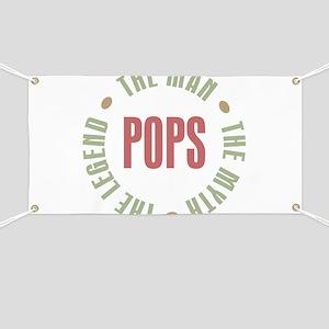 Pops Man Myth Legend Banner