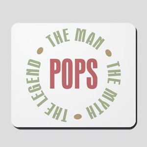 Pops Man Myth Legend Mousepad