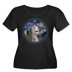 Starry Irish Wolfhound T
