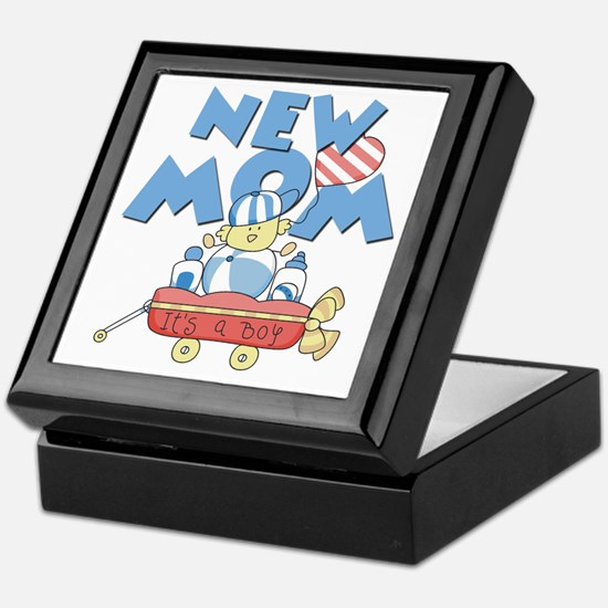 Red Wagon New Mom Keepsake Box
