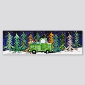 Harvest Moons Christmas Trip Bumper Sticker
