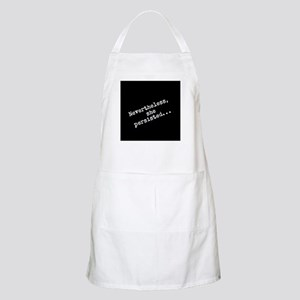 Nevertheless she persisted Light Apron