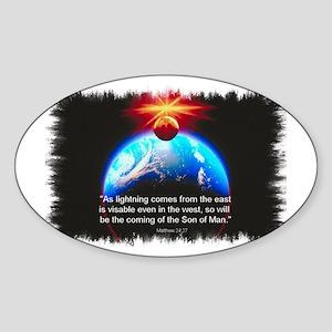 Son of Man Oval Sticker
