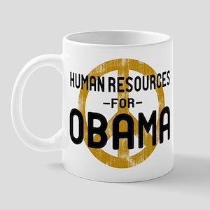 Human Resoueces for Obama Mug