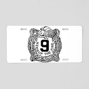 9th Infantry Regiment MANCH Aluminum License Plate