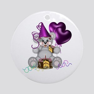 BIRTHDAY/BALLOONS Ornament (Round)