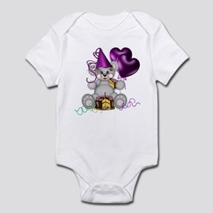 BIRTHDAY/BALLOONS Infant Bodysuit