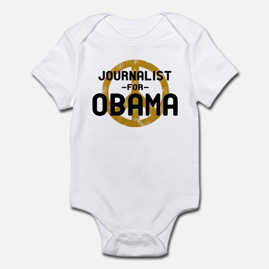 Journalist for Obama Infant Bodysuit