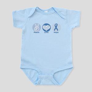 Peace LtBl Hope Infant Bodysuit