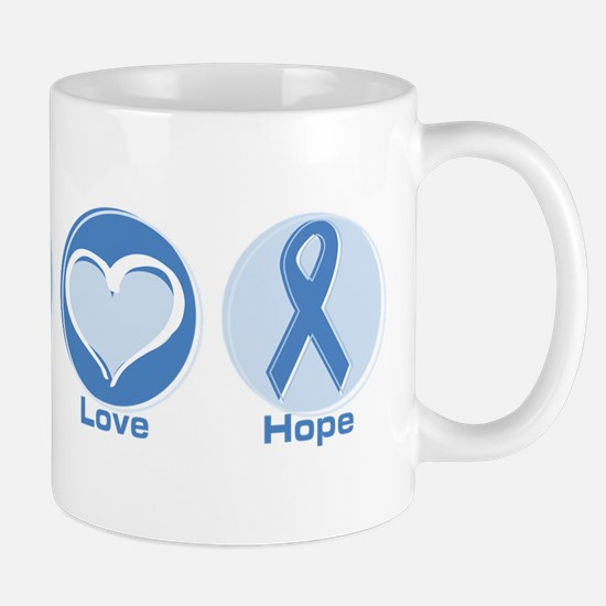 Peace LtBl Hope Mug