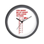 This Long To Ride Wall Clock
