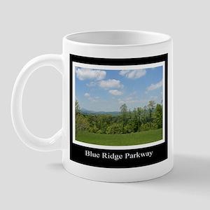 Blue Ridge Parkway Mountains Mug
