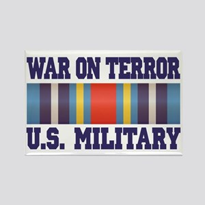 War On Terror Service Ribbon Rectangle Magnet