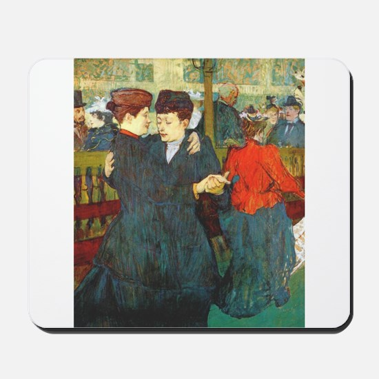 Two Women Dancing Mousepad