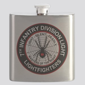 7th Infantry Division LIGHT Flask