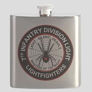 7th Infantry Division LIGHT Flask