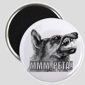 mmm PETA yummy PETA Magnet