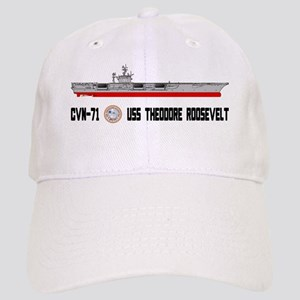 USS Theodore Roosevelt CVN-71 Cap
