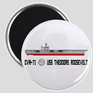 USS Theodore Roosevelt CVN-71 Magnet
