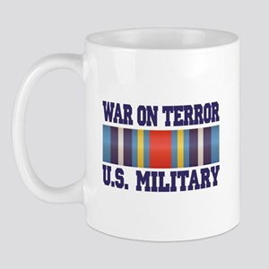 War On Terror Service Ribbon Mug