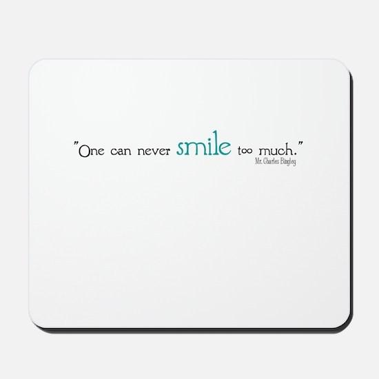 Charles Bingley Smile Mousepad