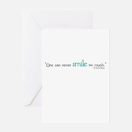Charles Bingley Smile Greeting Card