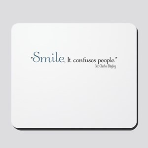 Charles Bingley Smile Mousepad