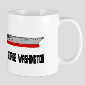 USS Washington CVN-73 Mug