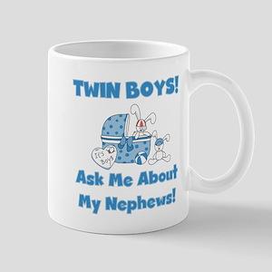 Aunt Twin Boys Mug