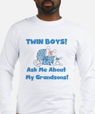 Grandma Twin Boys Long Sleeve T-Shirt