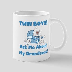 Grandma Twin Boys Mug