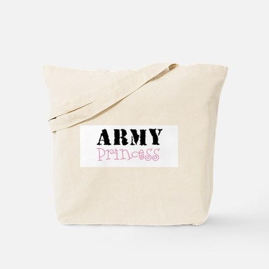 Army Princess Tote Bag