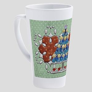 Harvest Moons Cardinal Tree 17 oz Latte Mug