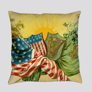 American Irish Everyday Pillow