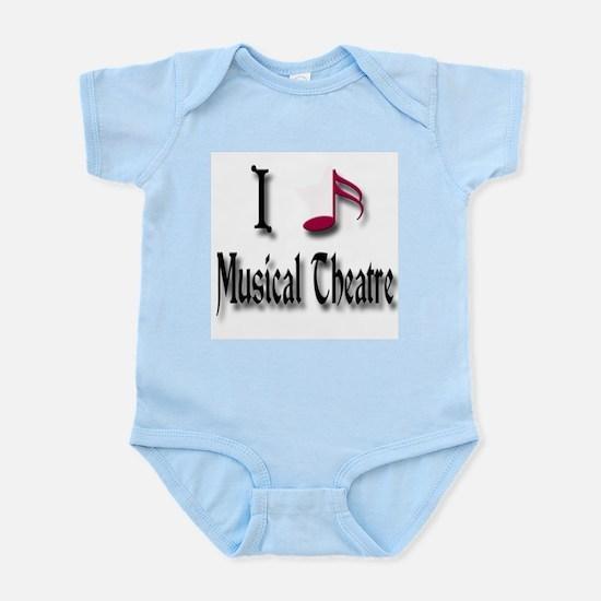 Love Musical Theatre Infant Bodysuit