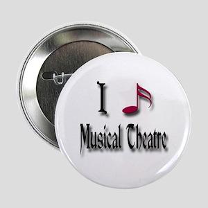 """Love Musical Theatre 2.25"""" Button"""