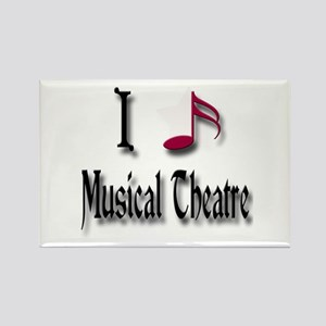 Love Musical Theatre Rectangle Magnet