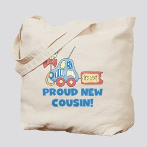 Proud New Cousin Tote Bag