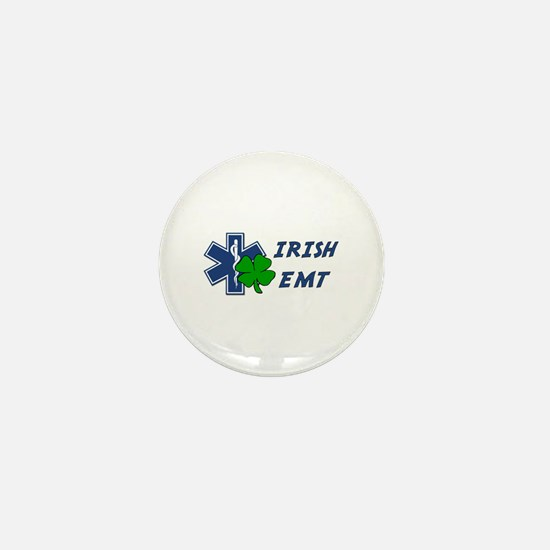Irish EMT Mini Button