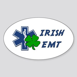 Irish EMT Sticker (Oval)