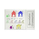 SpecGram NLP Pretty Li Rectangle Magnet (100 pack)