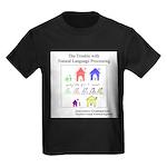 SpecGram NLP Pretty Little Girls Kids Dark T-Shirt