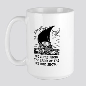 THE LAND OF ICE AND SNOW Large Mug
