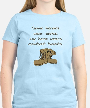 Some Heroes Wear Capes Women's Light T-Shirt