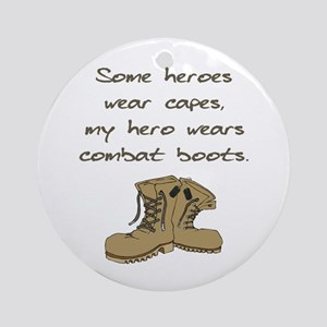 Some Heroes Wear Capes Ornament (Round)