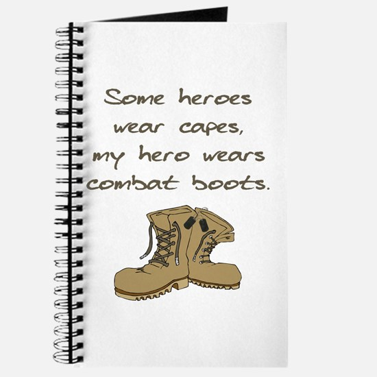 Some Heroes Wear Capes Journal