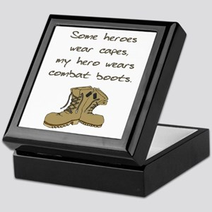 Some Heroes Wear Capes Keepsake Box