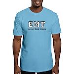 Emt Logo Fitted T-Shirt