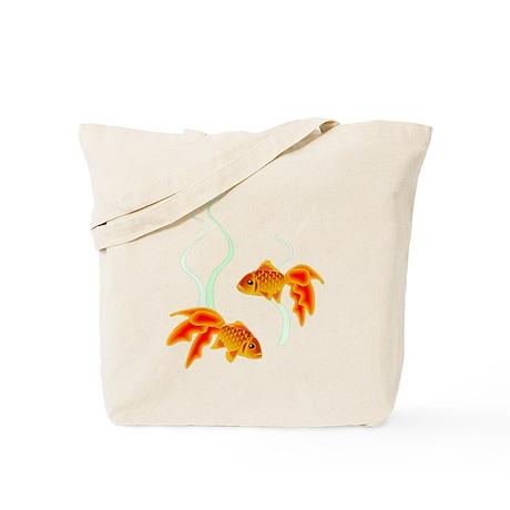 Chinese Koi Goldfish Tote Bag